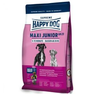 Корм сухой Happy Dog Maxi Junior GR 23 для щенков крупных пород с мясом 15кг