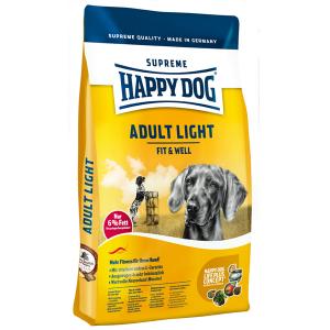 Корм сухой Happy Dog Adult Light для собак всех пород с птицей 12.5кг