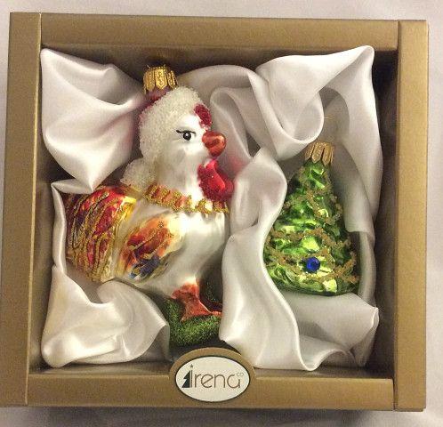 Ёлочные игрушки Ёлочка и петушок, Irena Co (Vitus)