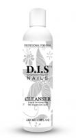 Жидкость для снятия липкого слоя DIS Cleanser, 240 мл