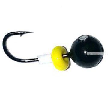 """Мормышка свинец """"шар"""" черный 1,5 гр d6.0"""