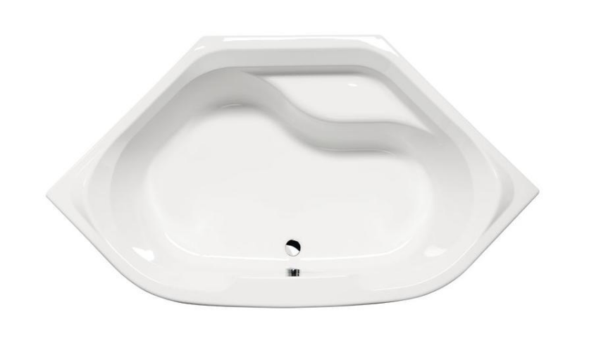 Акриловая ванна Alpen Tango 145x145 без гидромассажа