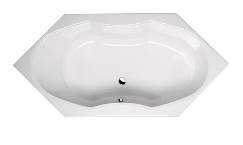 Акриловая ванна Alpen Tokata 136x136 без гидромассажа