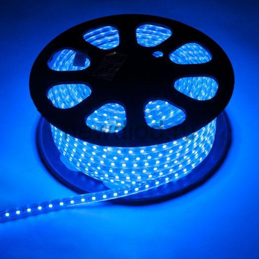 Дюралайт  LED Синий, круглый, 3 жилы