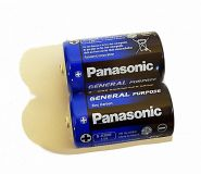батарейка Panasonic Zinc Carbon R20 2/24