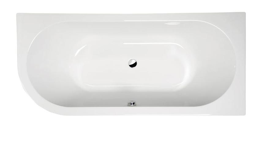 Акриловая ванна Alpen Viva 185x80 R без гидромассажа