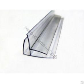 Угловой профиль 4-6мм (6м) прозрачный