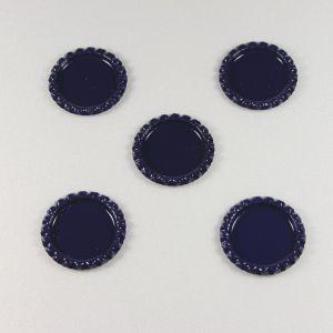 `Крышка, металл, внутренний диаметр 25 мм, наружный 31 мм, цвет №46