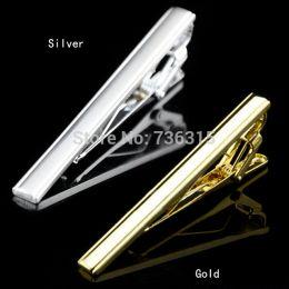 зажим для галстука, золото, серебро, модель 45