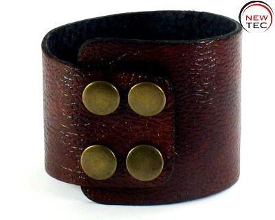 Кожаный браслет NewTec-2