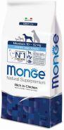 Monge Dog Daily Line Medium Puppy & Junior Корм для щенков средних пород (12 кг)