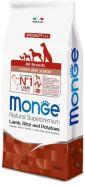 Monge Dog Speciality Line All Breeds Puppy&Junior Lamb, Rice & Potatoes Корм для щенков всех пород с ягненком, рисом и картофелем (12 кг)