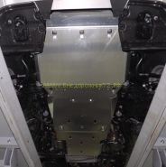 Защита Картера, КПП, Раздатки (Алюминий 4 мм)  для Toyota Land Cruiser 200