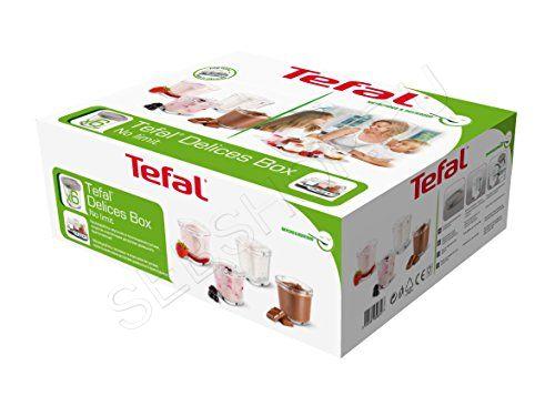 Комплект баночек 6 штук йогуртницы Тефаль (Tefal) моделей YG65..., YG66... MULTI DELICES COMPACT, XF100132