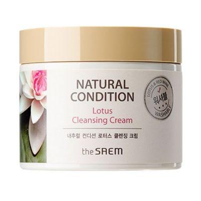 Корейский крем очищающий Natural Condition Cleansing Cream Saem 300мл