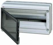 Бокс ABB EUROPA IP65 настенный 18М с прозрачной дверцей серый