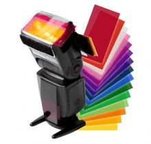 Цветные фильтры для вспышки (универсальное крепление)