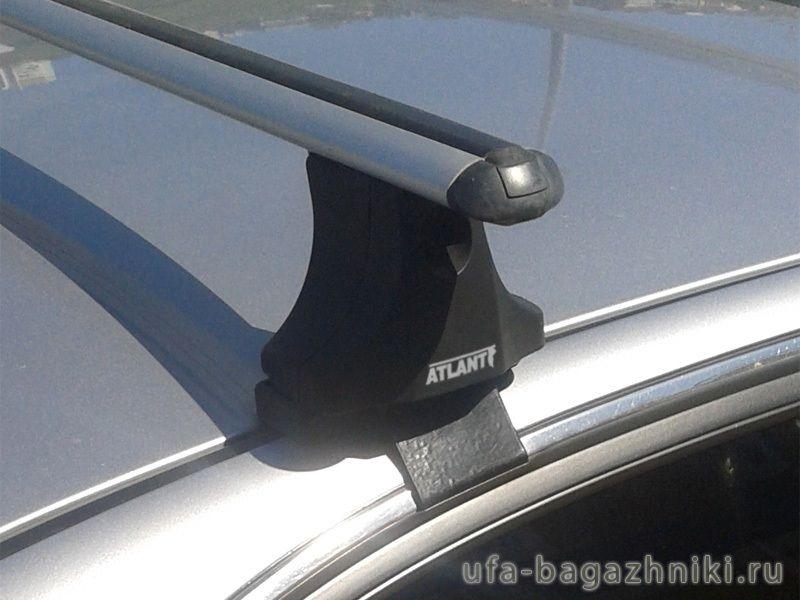 Багажник на крышу Hyundai Sonata NF, Атлант, аэродинамические дуги