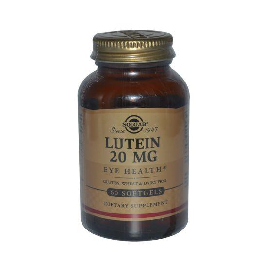 Лютеин 20 мг, 60 капсул