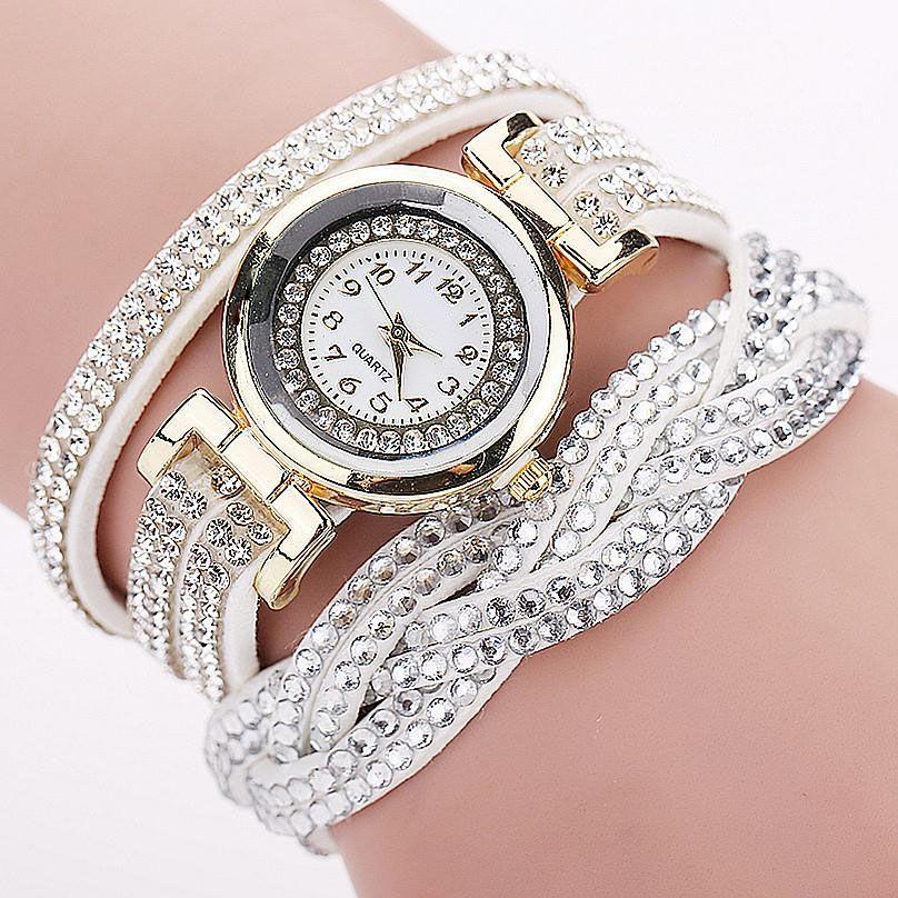 8b02029a Женские наручные часы со стразами JOCESTYLE