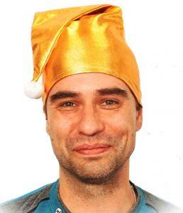 Колпачек карнавальный золотой