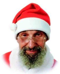 Колпак Дед Мороза эластичный