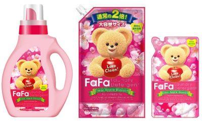 142234 Жидкое средство для стирки детского белья FaFa с яблочным ароматом, запасной блок, 900 мл