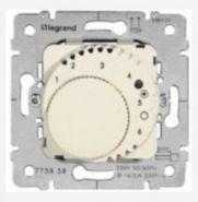 Термостат с НЗ контактом Белый (арт.775815)