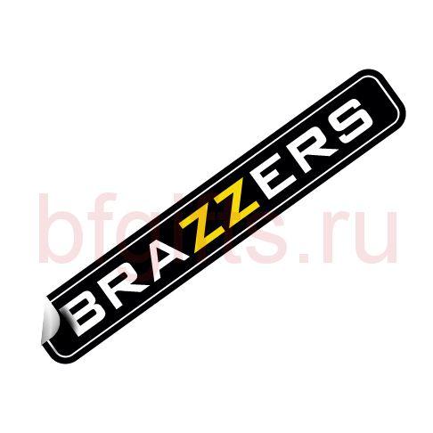 Наклейка BRAZZERS