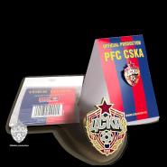 Значок эмблема 15 мм ФК ЦСКА. Официальная продукция