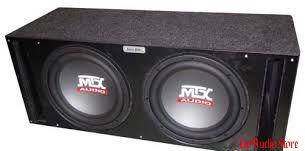 MTX RT12-04x2 vented box