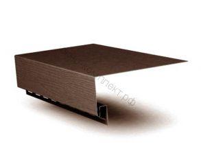 J-фаска ПВХ 3000мм коричневый