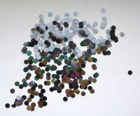 Кружочки для дизайна ногтей №4 (черные голограмма)