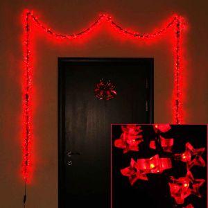 Звёздочки красные  (450 светодиодов)