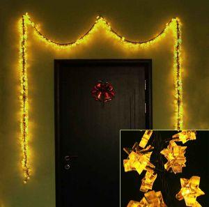 Звёздочки золотые (450 светодиодов)