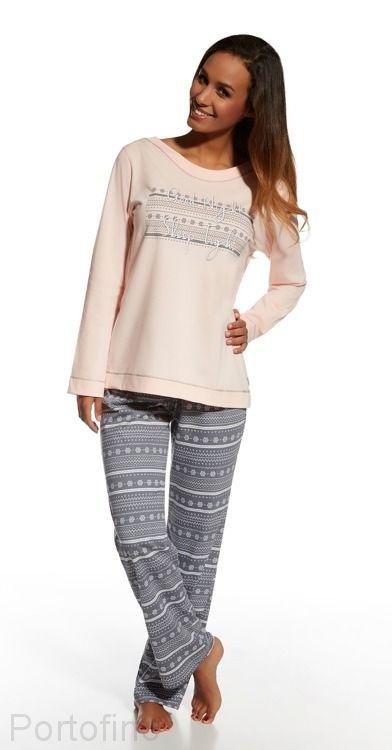 655-102 уютная женская пижама Cornette