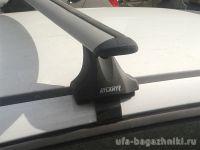 Багажник на крышу Mitsubishi Lancer 10 sedan, Атлант, крыловидные дуги