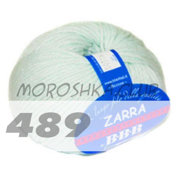 Мятный Zarra BBB (цвет 489)