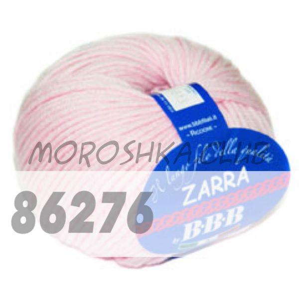 Светло-розовый Zarra BBB (цвет 86276)