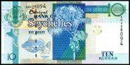 Сейшельские острова 10 рупий 2013 год пресс