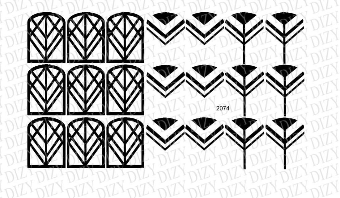 Слайдер дизайн, DIZY арт. 2074