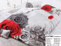 Комплект постельного белья 3 D ( семейный)-999 руб