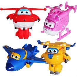 """Набор игрушек мини """"Супер крылья Джетт и его друзья"""", 4 шт."""