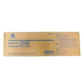 A0XV0KD/DV-311C Блок девелопера оригинальный синий Konica Minolta