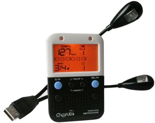 CHERUB WSM-002 Intelligent Metronome Метроном на прищепке с LED-светильником