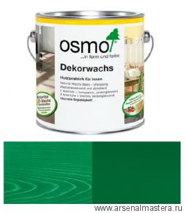 Масло цветное интенсив Osmo Dekorwachs Intensive Tone 3131 Зеленое 0,125 л