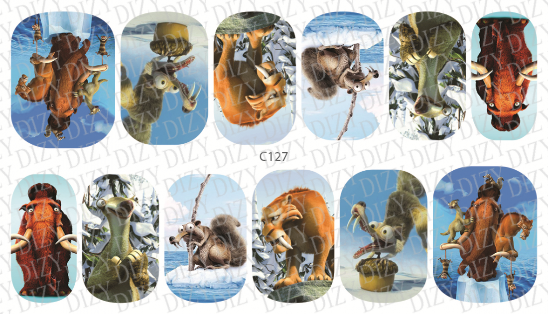 Слайдер дизайн DIZY, арт. C127-01