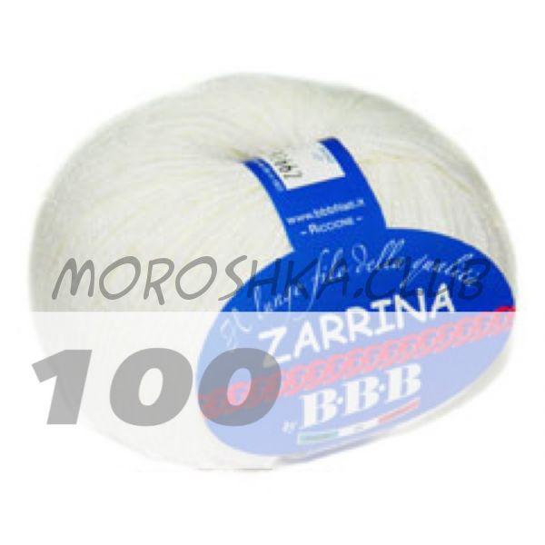 Белый Zarrina BBB (цвет 100)