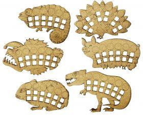 """Планшеты животных для игры """"Эволюция. Естественный отбор"""". Выпуск 1."""