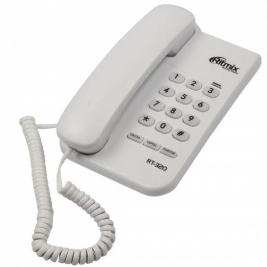 Телефон RITMIX RT-320 White белый